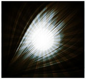 Abstract black background Beautiful rays of light. Abstract black background Beautiful rays Royalty Free Stock Images