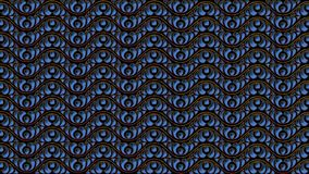 Abstract black background with blue patterns for the design of t. Abstract black background with blue patterns is computer graphics and can be used in the design Vector Illustration