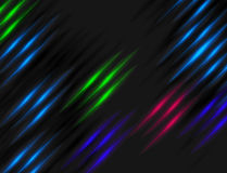 Abstract black background with color glow for design Royalty Free Stock Images