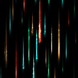 Abstract black background with flashes Stock Images