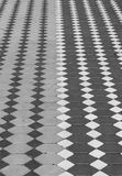 Abstract black background, Old footpath Royalty Free Stock Photography
