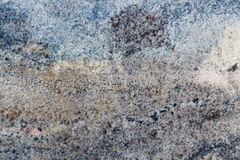Abstract Black and Blue Granite Colors Royalty Free Stock Photo