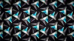 Abstract black blue green  and white color pattern wallpaper. Abstract black blue green and white color pattern background Stock Photo