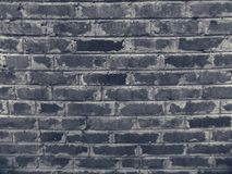 Abstract black brick wall texture wallpaper background. Abstract black brick wall background. Texture wallpaper backgrounds mystic building Stock Photos