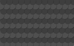 Abstract black circles tech background Stock Images