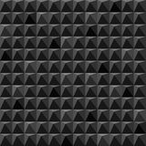 Abstract black cubes geometric background Stock Photos