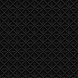Abstract black 3d volumetric geometric seamless pattern. Realistic vector illustration. Abstract black 3d volumetric geometric seamless pattern. Realistic Royalty Free Stock Photo