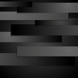 Abstract black design Stock Image