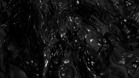 Abstract Black Fluid Background stock footage