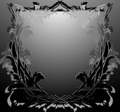 Abstract black framework Royalty Free Stock Image
