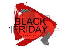Abstract Black Friday vector illustratie