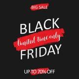 Abstract Black Friday-verkoopontwerp vector illustratie
