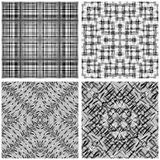 Abstract black and gray in a classic style collection of vector illustration Royalty Free Stock Photography