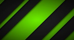 Abstract black and green background, diagonal lines and strips Royalty Free Stock Photo