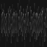 Abstract black halftone circles background Royalty Free Stock Photography