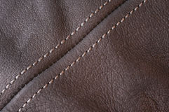 Abstract black leather background Stock Photo