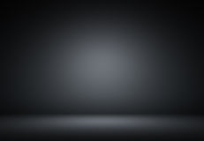 Abstract black luxury background Studio backdrop - well use as b Royalty Free Stock Image