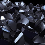 Abstract black mineral stock images