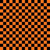 Abstract black and orange color square background for halloween theme. Concept. Vector illustration Stock Photo