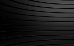 Abstract black panels with copyspace for text. 3D render Stock Images
