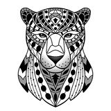 Abstract Black  Panther Royalty Free Stock Images