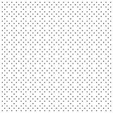 Abstract black pattern with stars Stock Image