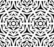 Abstract Black Rose Pattern Stock Images