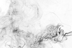 Abstract black smoke Royalty Free Stock Photography