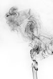 Abstract black smoke Royalty Free Stock Image