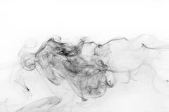Abstract black smoke Royalty Free Stock Photos
