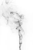 Abstract black smoke Stock Image