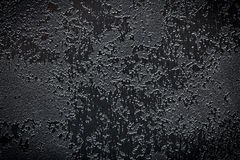 Abstract black textured background. The abstract black textured background Royalty Free Stock Images
