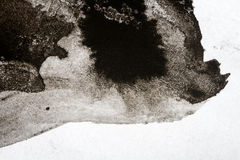 Abstract black watercolor background Royalty Free Stock Photography