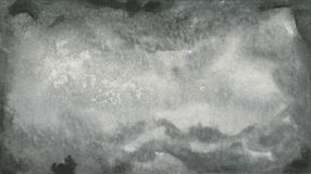 Abstract Black Watercolor Texture Stock Images