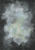Abstract Black Watercolor Texture Stock Photography