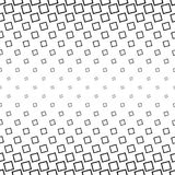 Abstract black and white angular square pattern. Design background Stock Photography