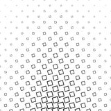 Abstract black and white angular square pattern. Design background vector illustration