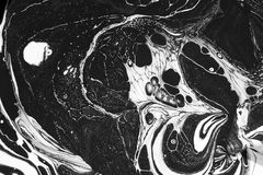 Abstract black and white Royalty Free Stock Photo