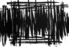 Abstract Black And White Background. Abstract black and white painted background Stock Illustration