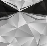 Abstract black white background Royalty Free Stock Photos