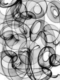 Abstract black and white background Stock Photography