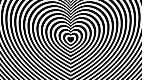 Abstract black and white background with a heart royalty free illustration