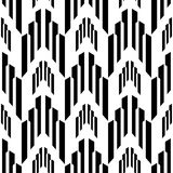Abstract black and white background, industrial  seamless pattern Stock Photography