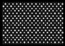 Abstract black and white background Royalty Free Stock Photos