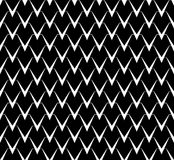 Abstract black and white background. Seamless vector pattern. Royalty Free Stock Photography