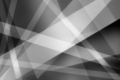 Abstract black and white background with textured lines and stripes in a modern art style design pattern Royalty Free Stock Image