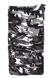 Abstract black and white camouflage military short Royalty Free Stock Photo