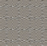 Abstract black and white checkered pattern Royalty Free Stock Photos
