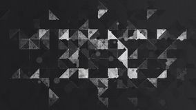 Abstract black and white color pattern wallpaper Stock Photos