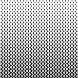 Abstract black and white color of squares shapes halftone patter. N. Texture pixel mosaic dotted background. Pop art template. Vector illustration stock illustration